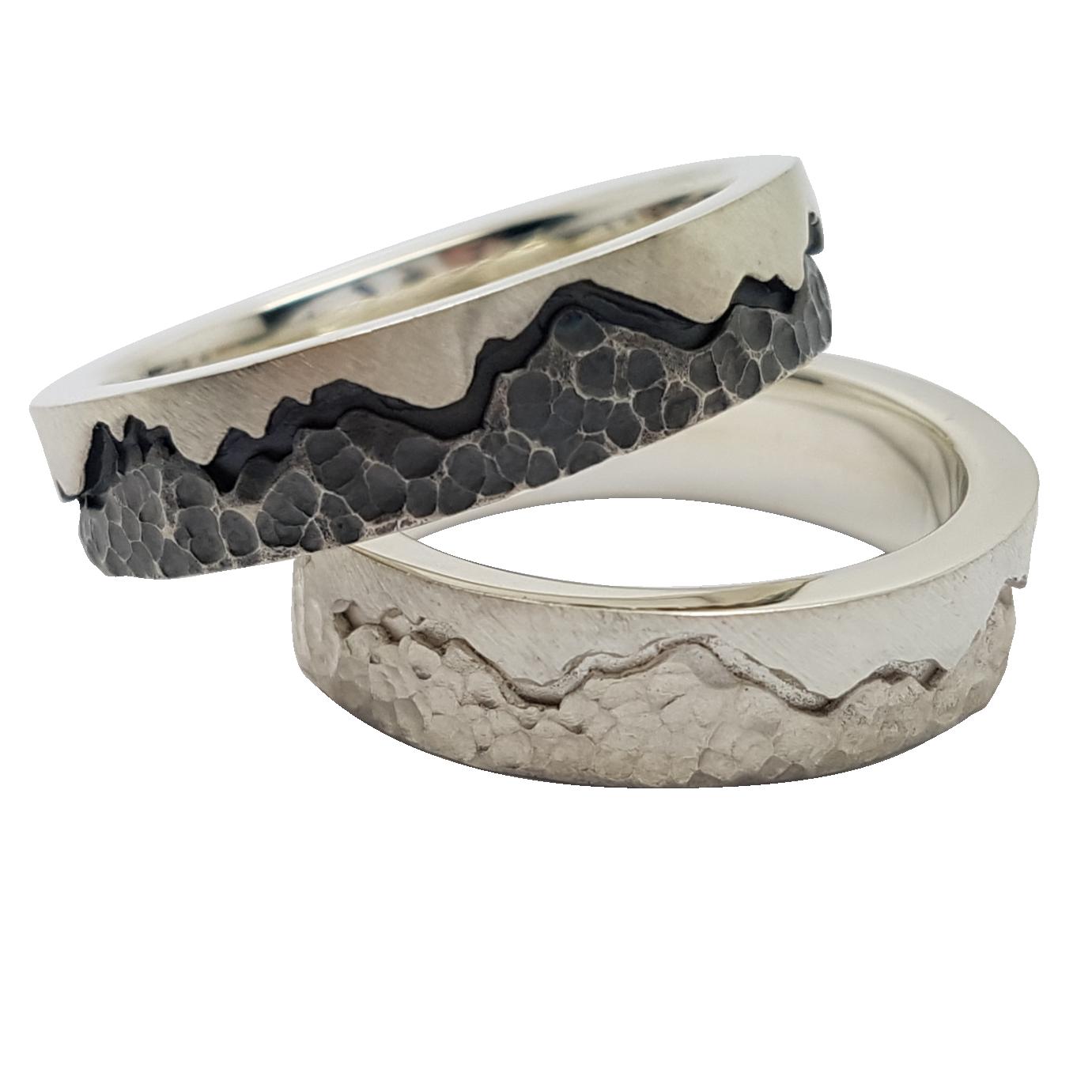 Metal Rings Oxidising